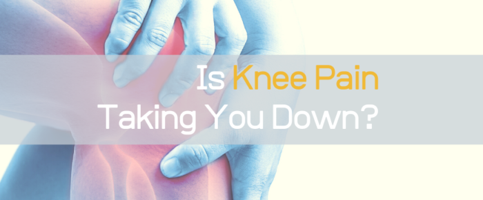 Is Knee Pain Taking You Down? Talk to Your Rolfer