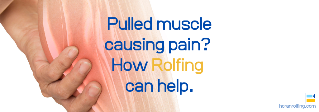 pulled muscle relief rolfing